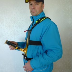 fältselen ipad harness