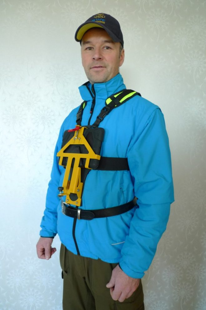fältsele ipad fieldharness