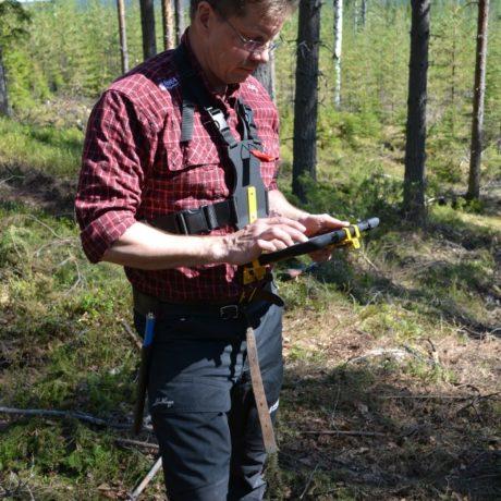 Fältsele Ipad för skog och mark