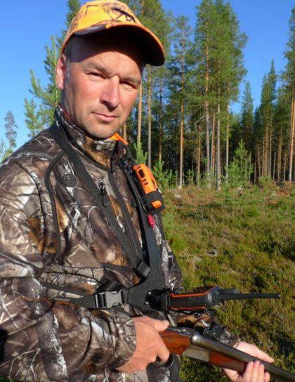 Norsjöselen en jaktsele för gps och radio